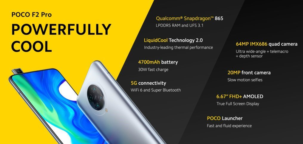 Poco F2 pro specifications