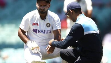 """AUS vs IND, 3rd Test: Rishabh Pant """"Taken For Scans"""" After Being Hit On Left Elbow While Batting 