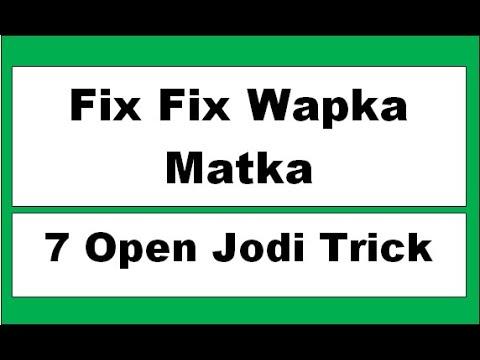 FIX FIX WAPKA MATKA FB Fix Fix Fix Satta Nambar Open Ank Kalyan