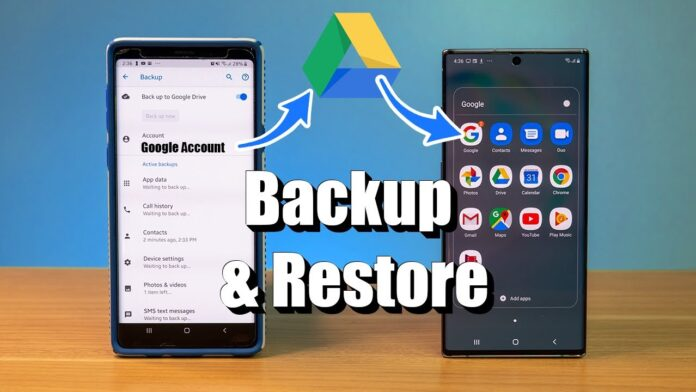 how to Restore photos from Google auto Backup